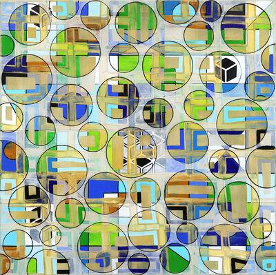 Petra Rös-Nickel, 'Pattern Green 21-1', 2020