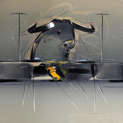 Sujth Kumar G.S. Mandya, 'Bull Painting - 54', 2004