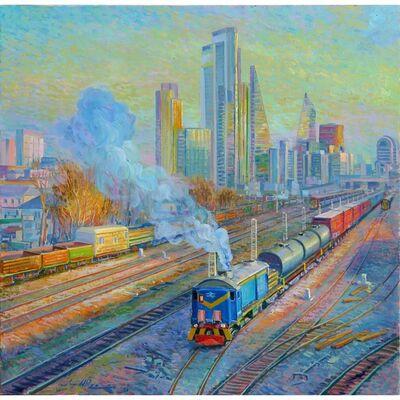 Juan del Pozo, 'Blue Smoke', 2020
