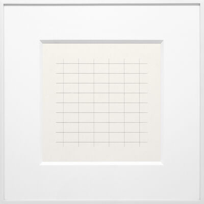 Agnes Martin, 'On a Clear Day #24', 1973