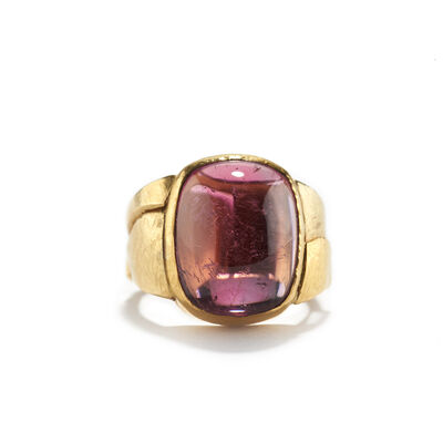Nancy Michel, 'Pink Tourmaline Ring', ca. 2016