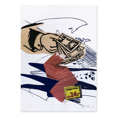 Sigmar Polke, 'Bargeld lacht (Cash is Laughing)', 2002