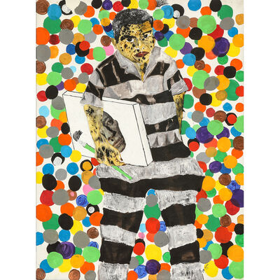 Kura Shomali, 'J'aime la couleur', 2014