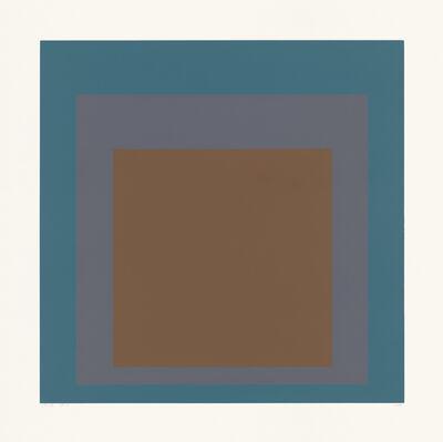 "Josef Albers, 'SP VII (from the portfolio ""SP"")', 1967"