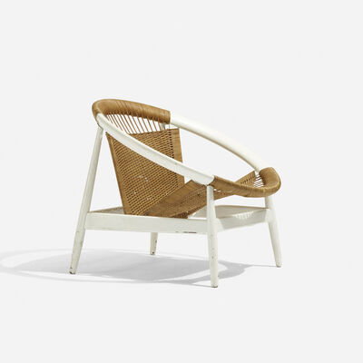 Illum Wikkelsø, 'Ringstol Lounge Chair', c. 1965