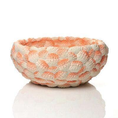 Hitomi Hosono, 'A Large Orange Coral Bowl', 2014