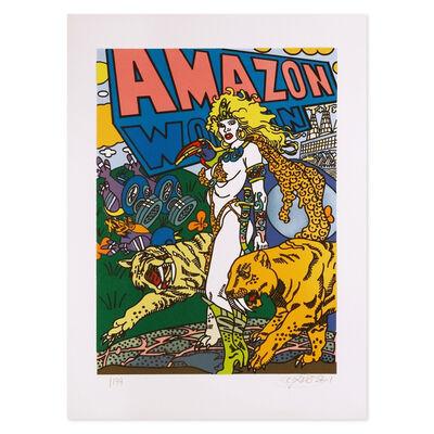 Erró, 'Amazon', 2001