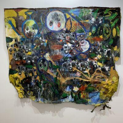 Sejiro Avoseh, 'Floating in Lilies II', 2020