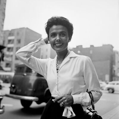 Vivian Maier, 'Lena Horne, New York', September 30-1954