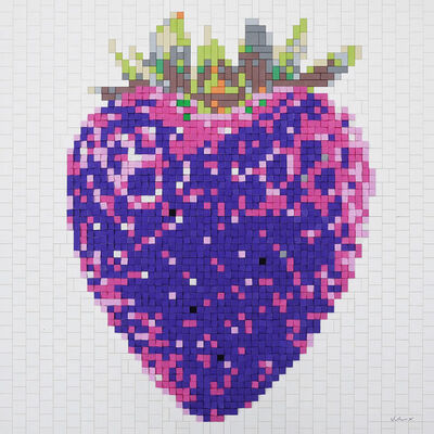 "Andre Veloux, '""Strawberry Purple""', ca. 2016"
