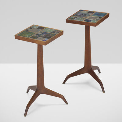Edward Wormley, 'Janus occasional tables model 5633, pair', 1956