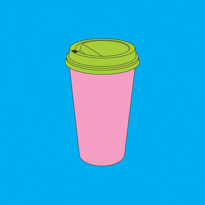 Michael Craig-Martin, 'Objects of Our Time: Takeaway Coffee', 2014