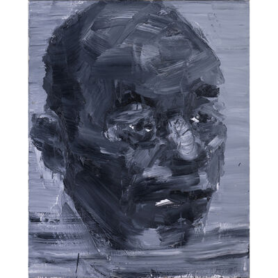 Yan Pei-Ming, 'L'homme le plus doux (le père de l'artiste)', 1996