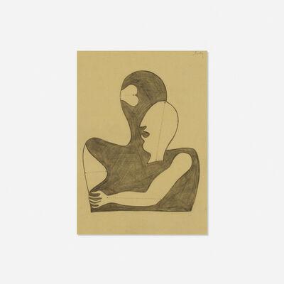Alvin Lustig, 'Untitled (study for Anatomy for Interior Designers)', c. 1948