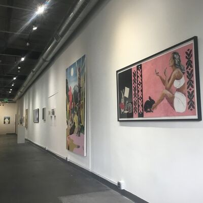 What Lies Ahead, installation view