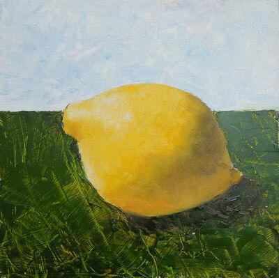 "Eve Plumb, '""Big Sky Lemon""', 2016"