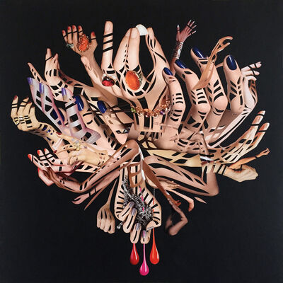 Debra Hampton, 'Hands III', 2017