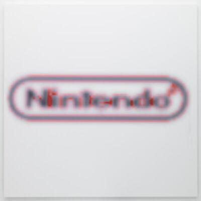 Mark Flood, 'Nintendo blood slide Picture 99', 2014