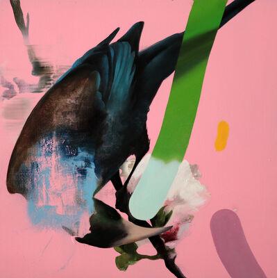 Manu Muñoz, 'Starlings (Blue)', 2021