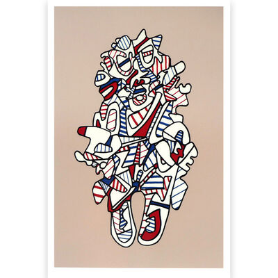 Jean Dubuffet, 'Presences Fugaces series: Objectador', 1973