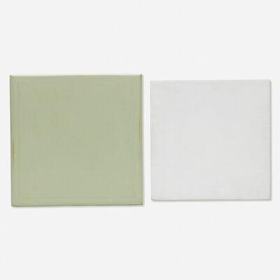 Stuart Arends, 'Celadon; White (two works)', 1989