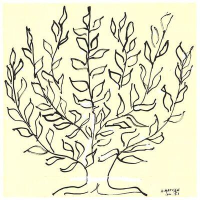 Henri Matisse, 'Le Platane - Le Buisson', 2017