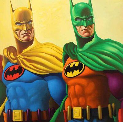 Geoffrey Gersten, 'Rainbow Batman, 2', 2019