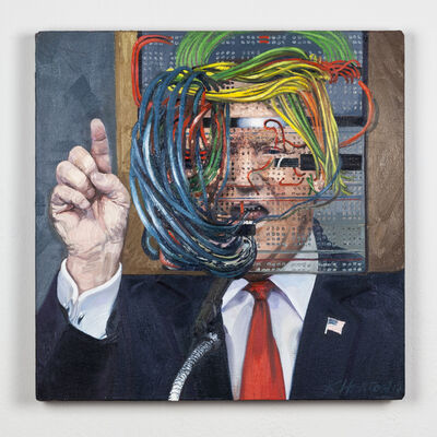Kelly Heaton, 'Trump (the big hack)', 2017