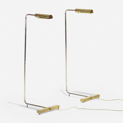 Cedric Hartman, 'floor lamps model 1UWV, pair', 1966