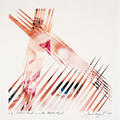 James Rosenquist, 'Electrical Nymphs on a Non-Objective Ground', 1984