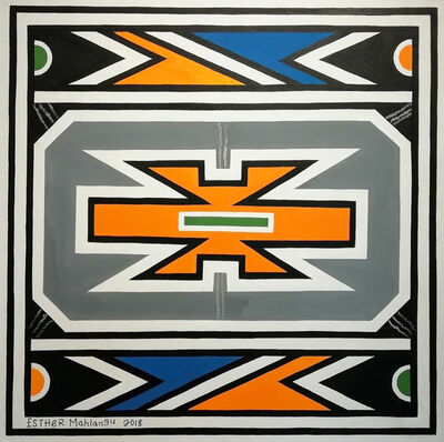 Esther Mahlangu, 'Ndebele Abstract ', 2018