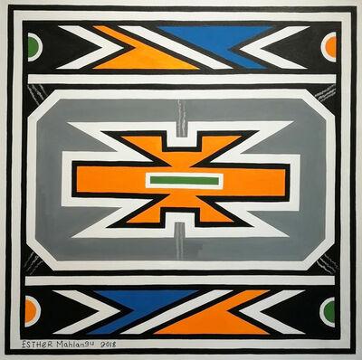 Esther Mahlangu, 'Ndebele Abstract ', 2018