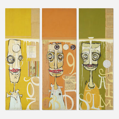 Phil Frost, 'Untitled (triptych)', 1996