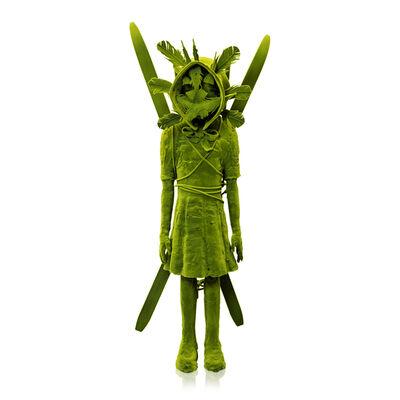 Kim Simonsson, 'Moss Girl with Skis and Mask', 2019
