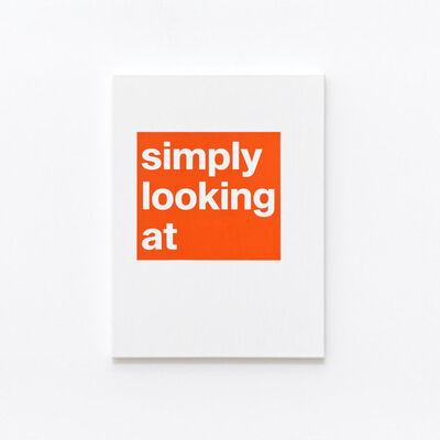 Adib Fricke, 'Simply looking', 2021