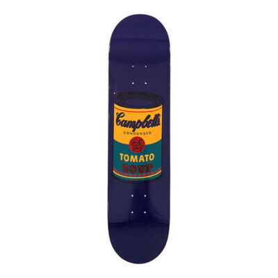 Andy Warhol, 'Campbells Soup Skate Deck (Teal)', 2016
