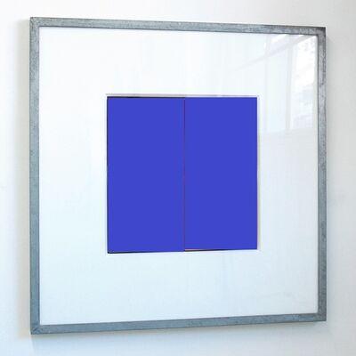 Jürgen Paas, 'JEU DE CARRÉ BLUE ', 2007