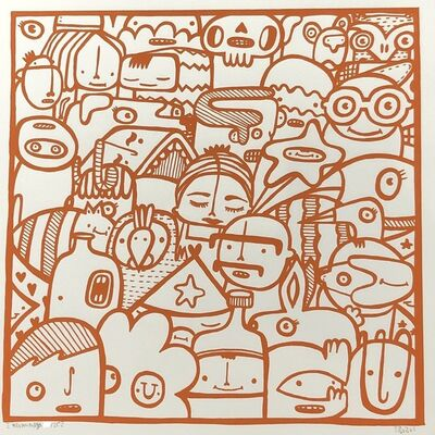 Kev Munday, 'The Not So Distanced Future - Orange', 2020