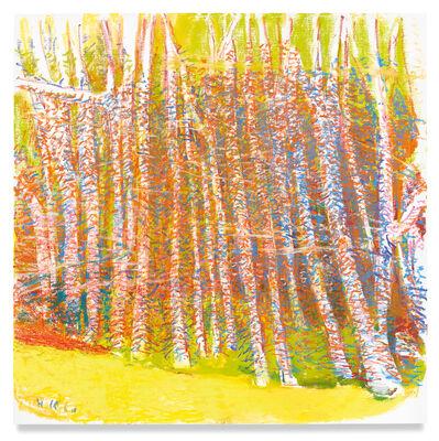 Wolf Kahn, 'Olive Green', 2018