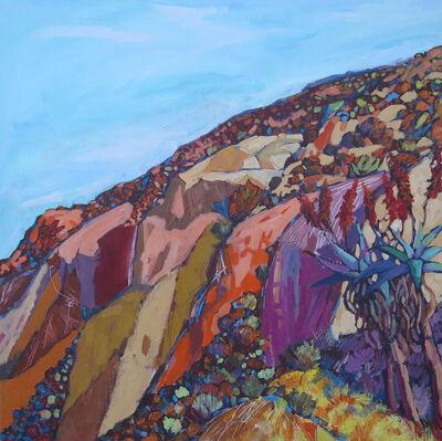Hugh Mbayiwa, 'Red cliff', 2016