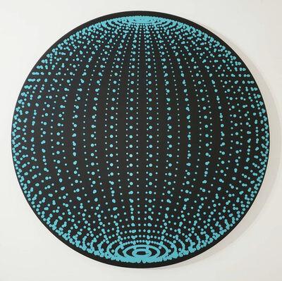 John Zoller, 'John Zoller, Teal Bubble Orb', 2020