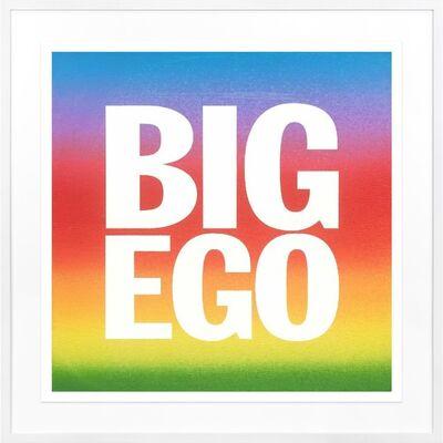 John Giorno, 'Big Ego', 2017