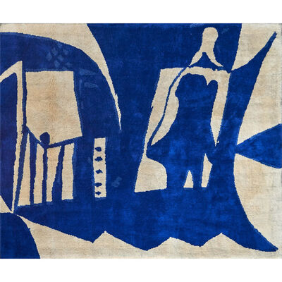 Pablo Picasso, 'Wall-hanging wool tapestry'