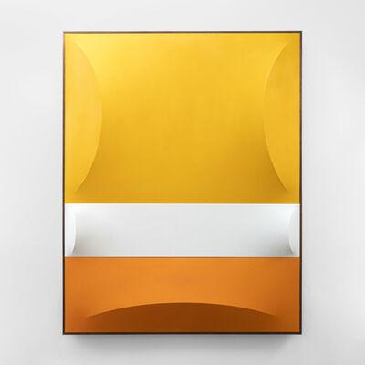 Charlie Oscar Patterson, 'No 5-6 Yellow, White & Orange_1', 2021