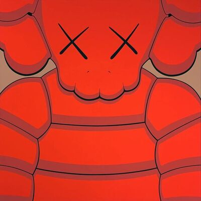 KAWS, 'What Party - Orange', 2020