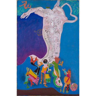 Gérard Guyomard, 'L'orchestre', 1967