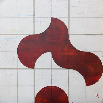 Francisco Castro Leñero, 'Positivo negativo (rojo y blanco)', 2014