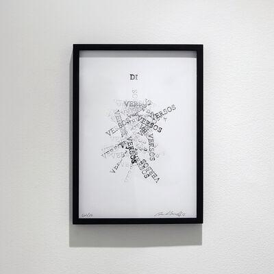 Paulo Bruscky, 'Di Versos', 2015
