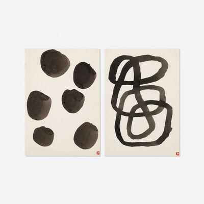 Takeo Yamaguchi, 'Untitled (two works)', c. 1980