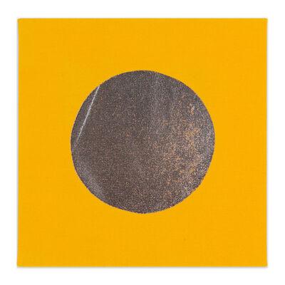Chad Kouri, 'Reflection Pool Yellow (1x1)', 2021